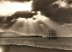 300px-Wind_Bound_Lerwick_around_1880